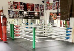 格闘技ジム LA GYM JAPAN です。
