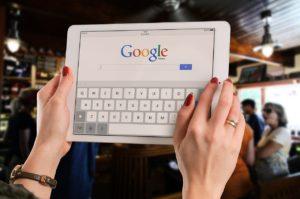 グーグル検索です