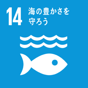SDG 目標14 海の豊かさを守ろう