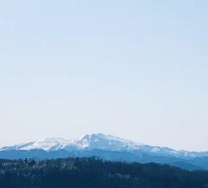 霊峰白山です
