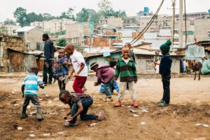 アフリカの子どもたちです