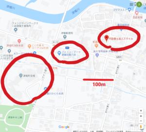 津幡町地図です