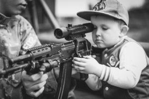戦争と子どもです