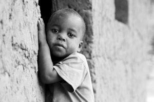 アフリカの子供です