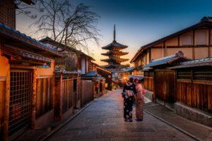 日本人 京都