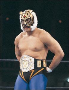 タイガーマスクです