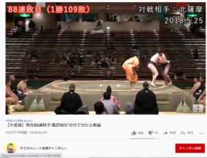 大相撲 服部桜 勝南桜関 連敗 YouTube動画