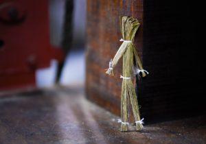 藁人形です