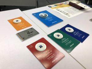 SDGsカードゲームで使用するカード