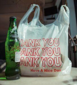 レジ袋です