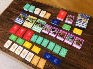 カードゲーム 2030 SDGsのカードキットです。