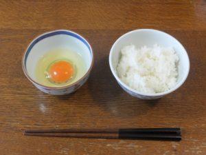 卵とご飯です