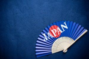 日本の扇子です