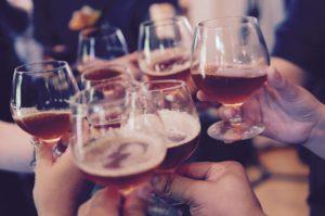 乾杯 お酒
