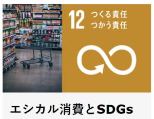 エシカル消費とSDGsに関するブログです