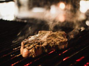 ステーキです