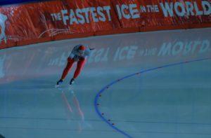 スピードスケートです