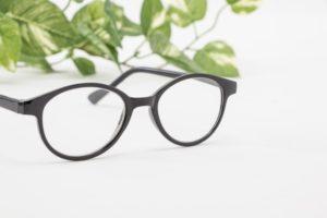 メガネです