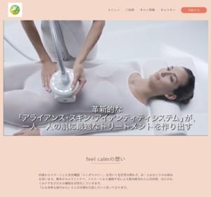 金沢エステ feel carm ホームページ