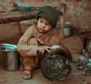パキスタンの子どもです